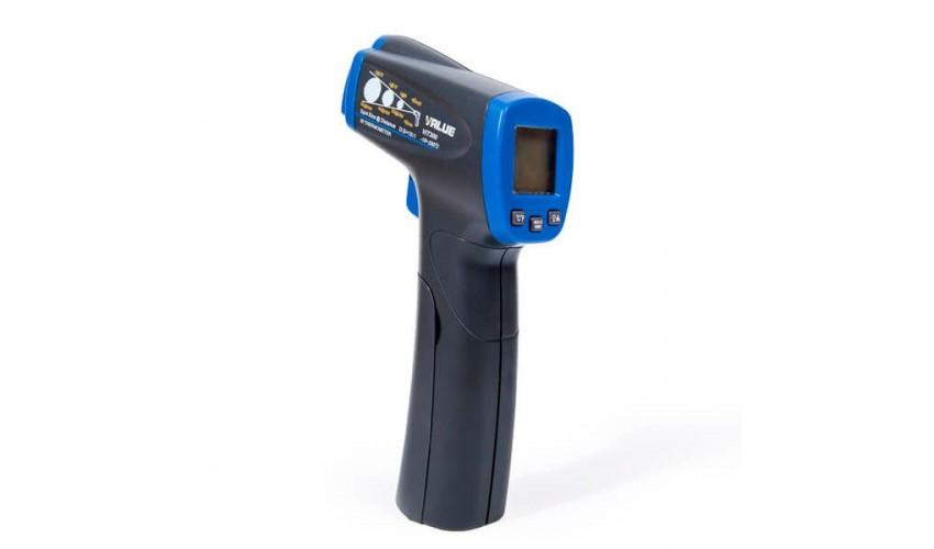 Pirometr, termometr bezdotykowy laserowy VALUE VIT-300