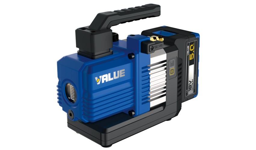 Akumulatorowa pompa próżniowa NAVTEK VRP-2SLi 56l/min