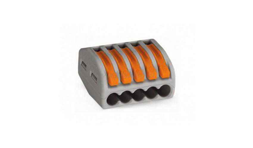 Złączka zaciskowa Wago 5x0.8-4mm drut i linka, 1szt