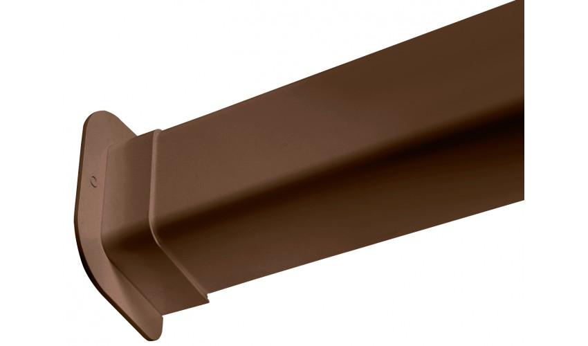 Rozeta koryta brązowego 80x60mm