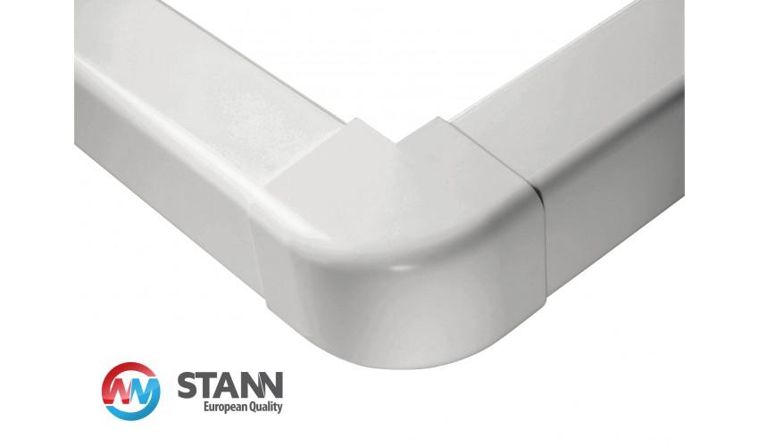 Narożnik zewnętrzny koryta 80x60mm STANN