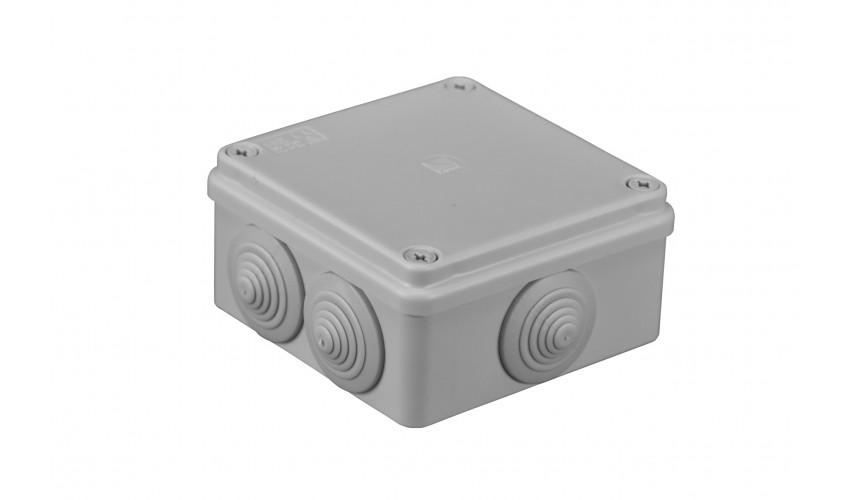 Puszka hermetyczna 100x100x50,6 dławików IP55