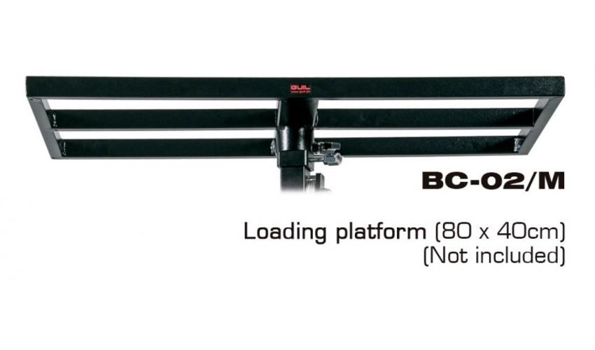 BC-02/M podest załadunkowy 80x40 cm