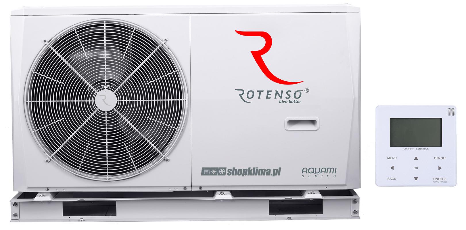 Pompa ciepła Rotenso Aquami