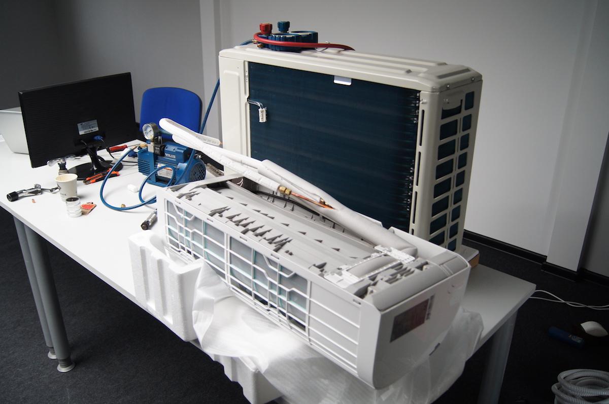 Szkolenie z montażu klimatyzacji